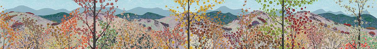 Moorland 1 190 x 100cm – Moorland 2 190 x 100cm – Moorland 3 190 x 100cm – Moorland 4 190 x 100cm